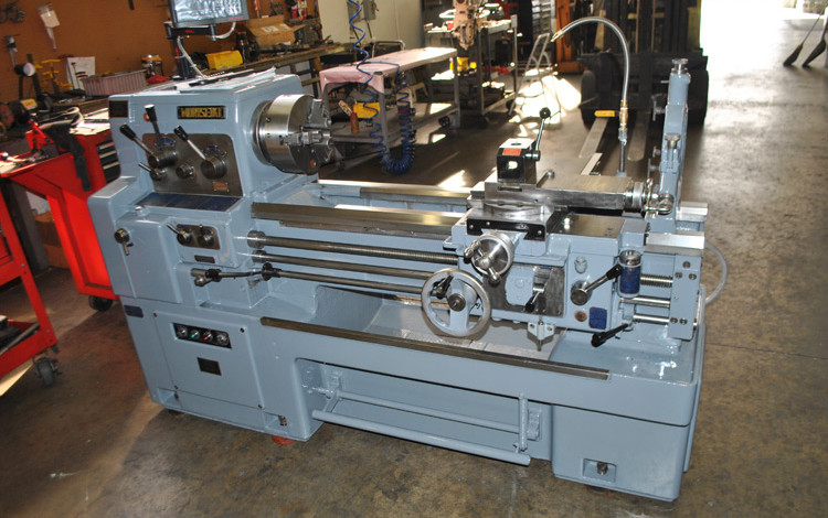 Repaired & Rebuilt of MorI Seiki Lathe