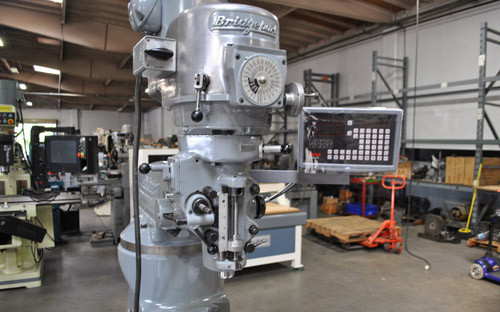 Fully Restored Bridgeport Milling Machine