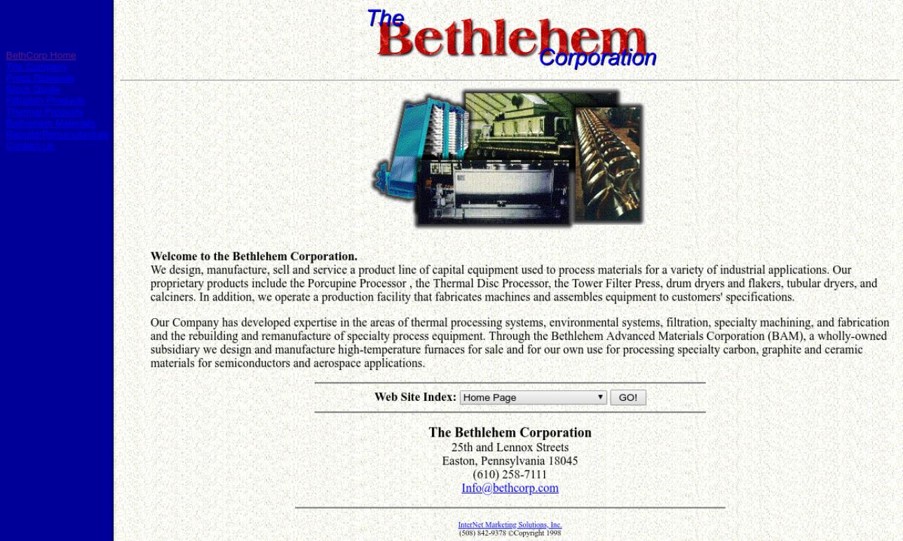 The Bethlehem Corporation
