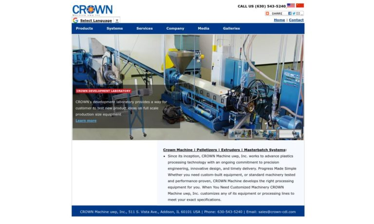 CDL Technology, Inc./ Crown Machine