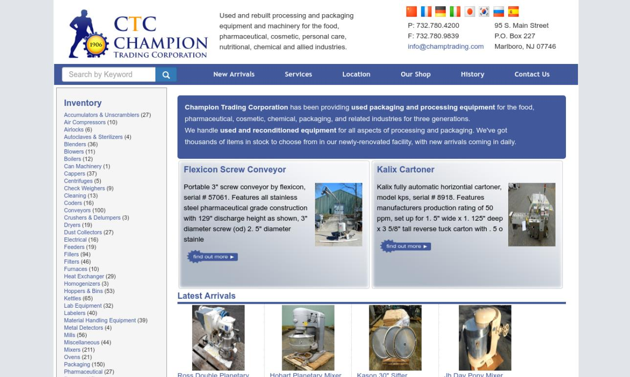 Champion Trading Corporation/ CTC