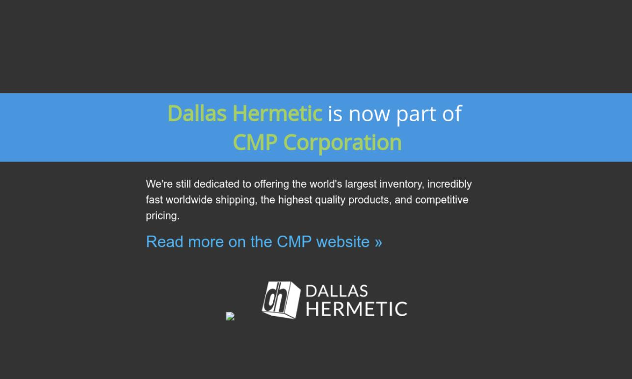 Dallas Hermetic Co., Inc./CMP corp.