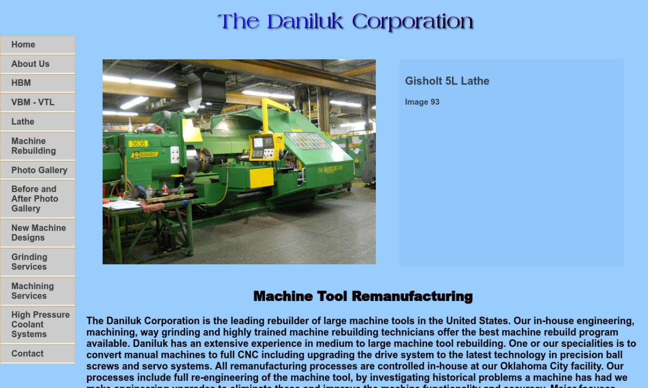 The Daniluk Corp.