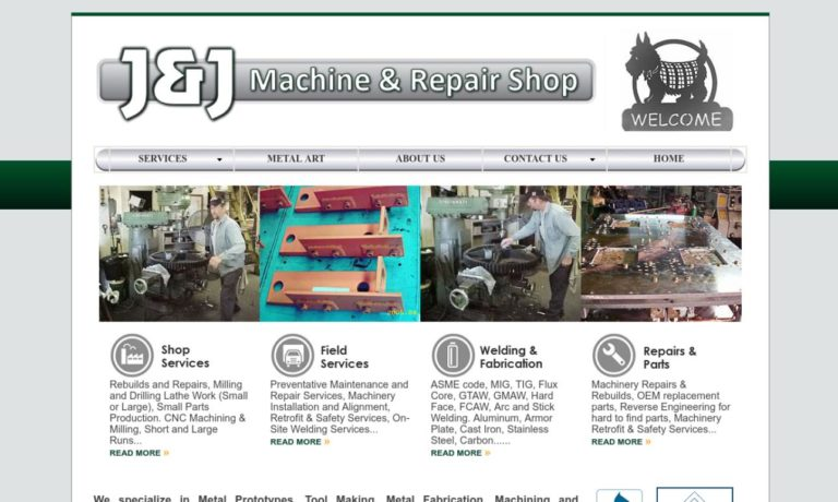 J & J Machine & Repair Shop, Inc.