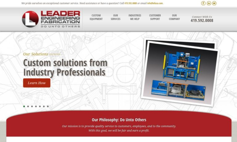 Leader Engineering-Fabrication, Inc.