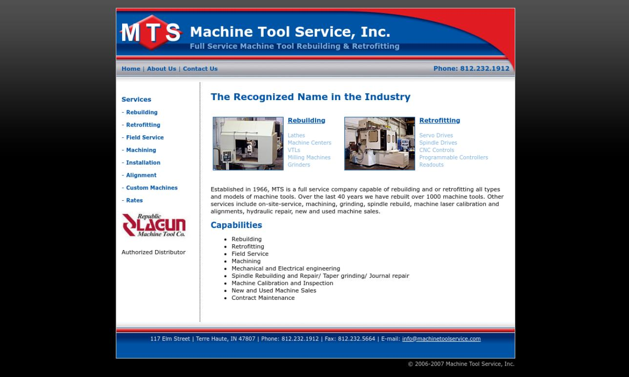 Machine Tool Service Incorporated