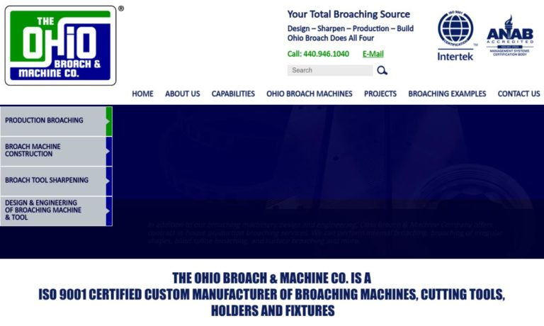 Ohio Broach & Machine Company