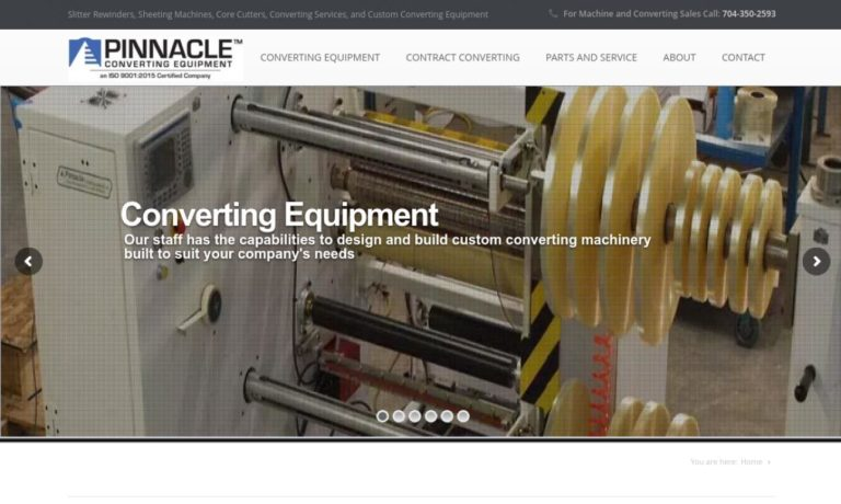 Pinnacle Converting Equipment, Inc.