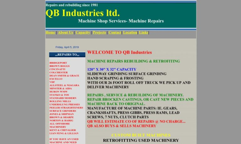 QB Industries Ltd.
