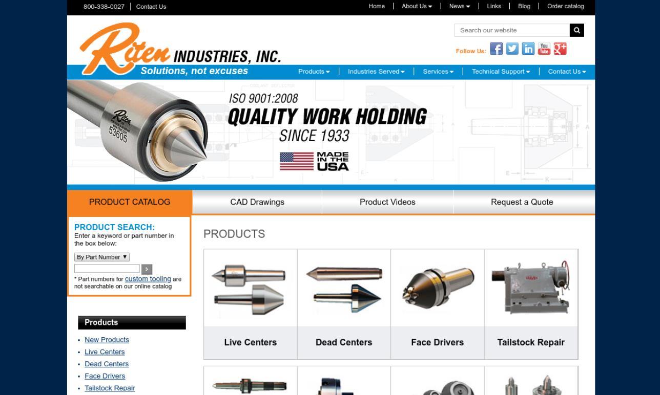 Riten® Industries, Inc.