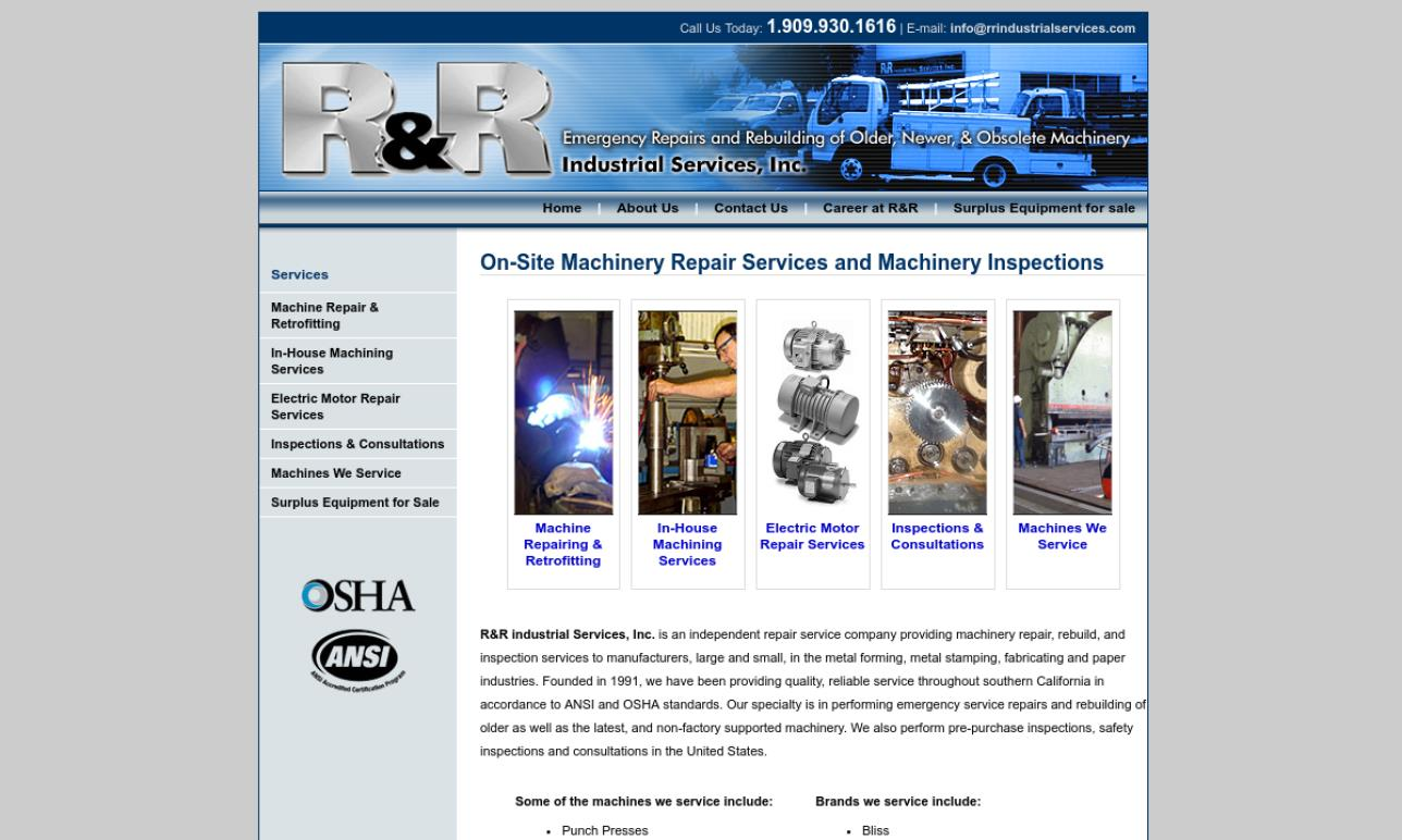 R&R Industrial Services, Inc.