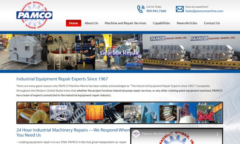 Pamco Machine Works, Inc.