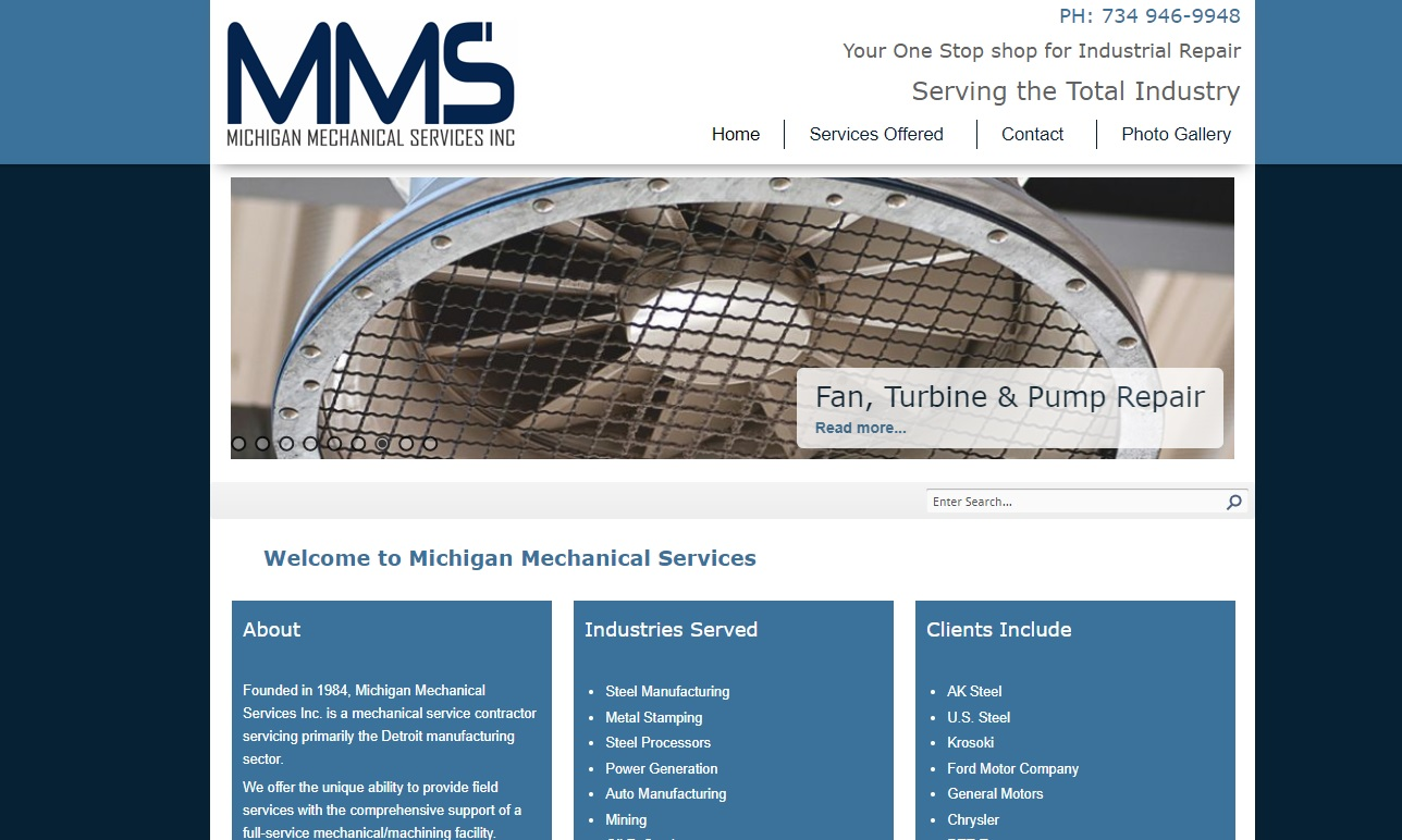 Michigan Mechanical Services, Inc.