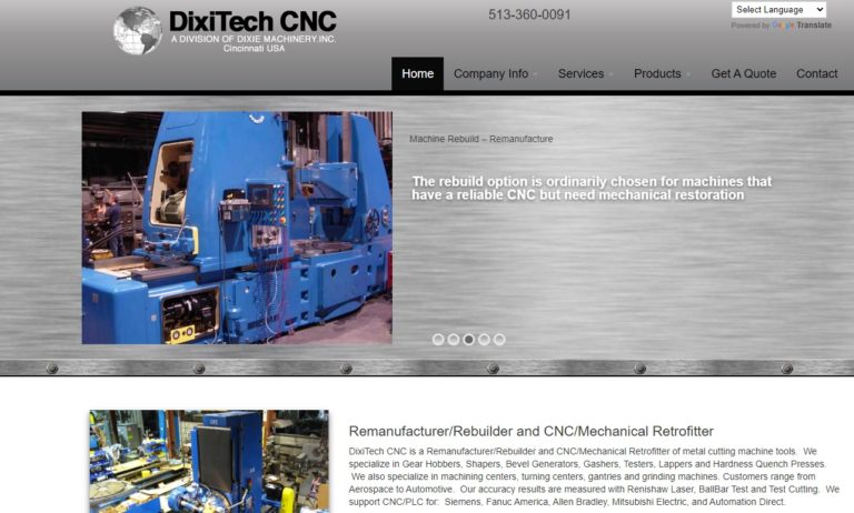 DixiTech CNC/Dixie Machinery, Inc.